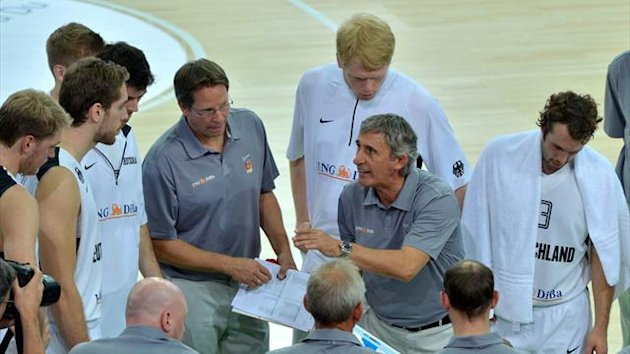 Svetislav Pesic ans German Basketball National Team 2012