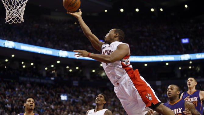 The 10-man rotation, starring the as-good-as-advertised Raptors