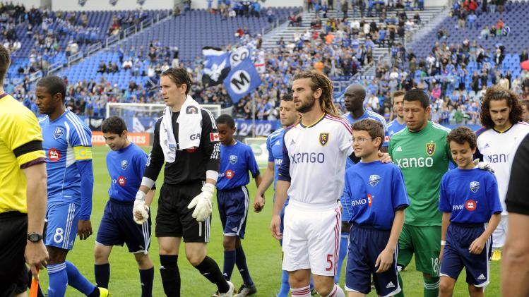 MLS: Real Salt Lake at Montreal Impact