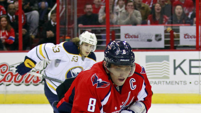 NHL: Buffalo Sabres at Washington Capitals