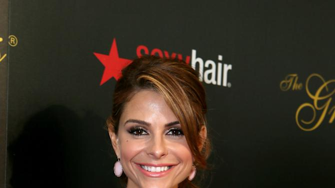 Maria Menounos arrives at Sexy Hair Celebrates The Gracies Presented By The Alliance For Women In Media Foundation, on Tuesday, May, 21, 2013 in Beverly Hills, Calif. (Photo by Alexandra Wyman/Invision for Sexy Hair/AP Images)