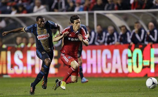 McInerney has goal, assist as Union beats Fire 3-1