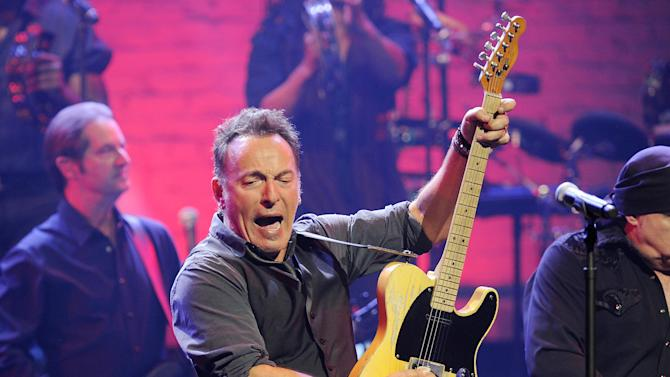 The Boss plays a note of caution on economic sway