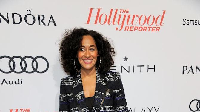 Tracee Ellis Ross arrives at The Hollywood Reporter Nominees' Night at Spago on Monday, Feb. 4, 2013, in Beverly Hills, Calif. (Photo by Chris Pizzello/Invision for The Hollywood Reporter/AP Images)