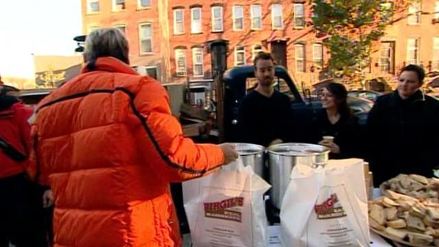 Coast Guard, Food Bank Deliver Thanksgiving to Sandy Victims