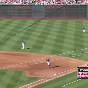 Harper's great diving grab