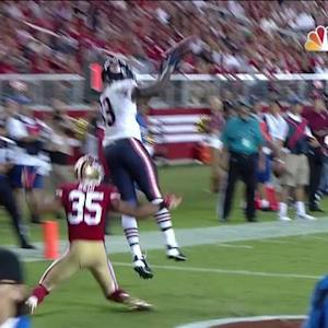 Chicago Bears tight end Martellus Bennett 3-yard TD reception