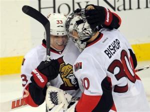 Silfverberg, Bishop help Senators top Devils in SO
