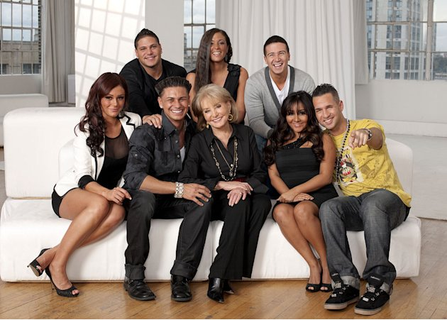 "The cast of the Jersey Shore will be featured in ""Barbara Walters Presents: The 10 Most Fascinating People of 2010."""