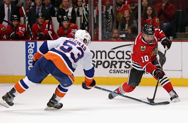 New York Islanders v Chicago Blackhawks