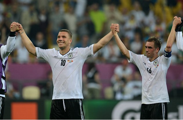 German Forward Lukas Podolski …