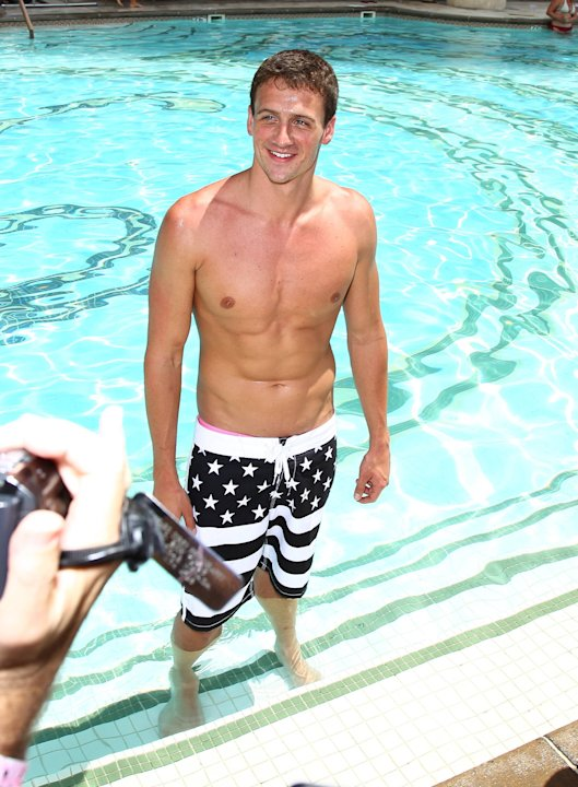 Ryan Lochte swimmer celebrates his Olympic success by hosting a day at Azure Pool inside The Palazzo Resort Hotel & Casino Las Vegas, Nevada - 18.08.12 Mandatory Credit: Judy Eddy/WENN.com
