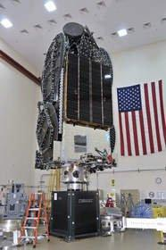 Space Systems/Loral-Built Satellite for Echostar Delivered to Baikonur Launch Base