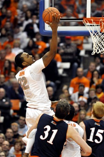 Joseph has 17, No. 1 Syracuse beats Bucknell 80-61