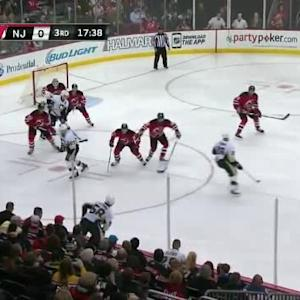 Cory Schneider Save on Kris Letang (02:25/3rd)