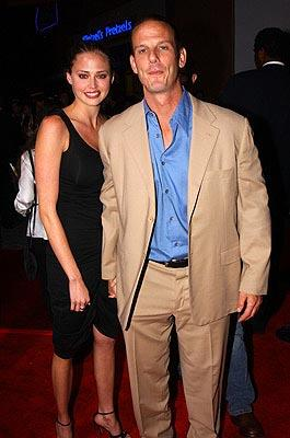 Estella Warren and Peter Berg at the LA premiere of Universal's The Rundown