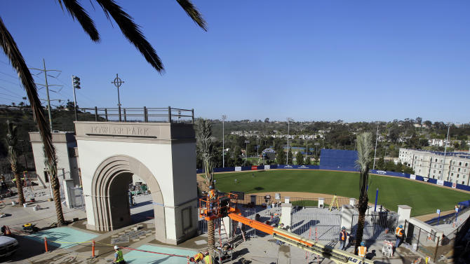 USD goes big-time with Fowler Park