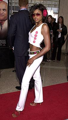 Taraji P. Henson at the LA premiere of MGM's What's The Worst That Could Happen