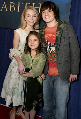 AnnaSophia Robb , Bailee Madison and Josh Hutcherson at the Hollywood premiere of Walt Disney Pictures' Bridge to Terabithia