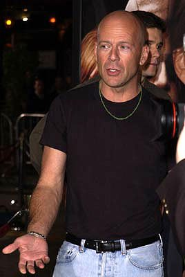 Bruce Willis at the Westwood premiere of MGM's Bandits