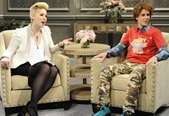 Vanessa Bayer and Justin Bieber | Photo Credits: NBC