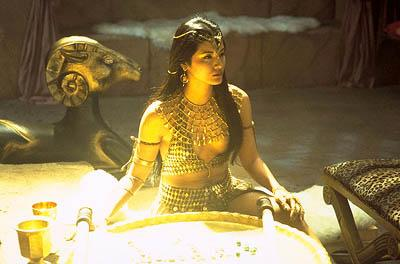 Kelly Hu as Cassandra in Universal's The Scorpion King