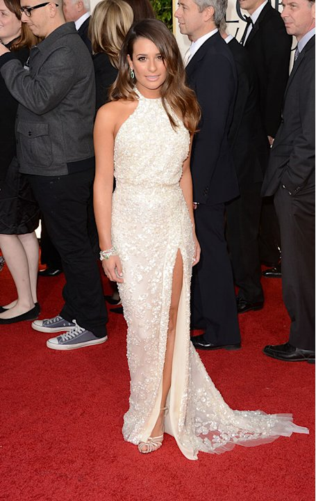 70th Annual Golden Globe Awards - Arrivals: Lea Michele