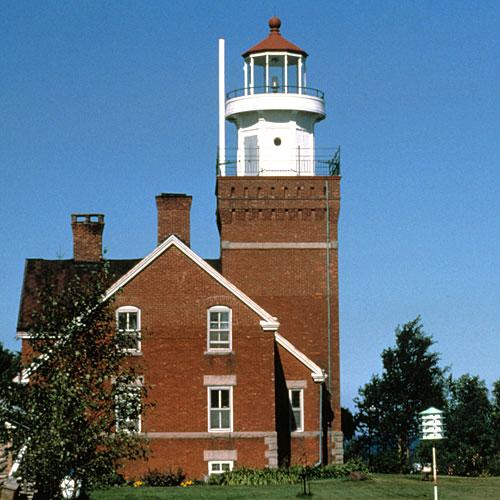 Big Bay Point Lighthouse: Big Bay, Michigan