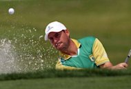 England's David Howell, pictured in March 2012, showed a welcome return to form by firing a four-under 67 at Le Golf National near Versailles on Saturday to share the third round lead in the French Open