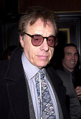 Peter Bogdanovich at the New York premiere of Miramax's Bridget Jones's Diary