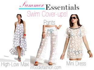 Summer Essentials: Swim Cover-ups!