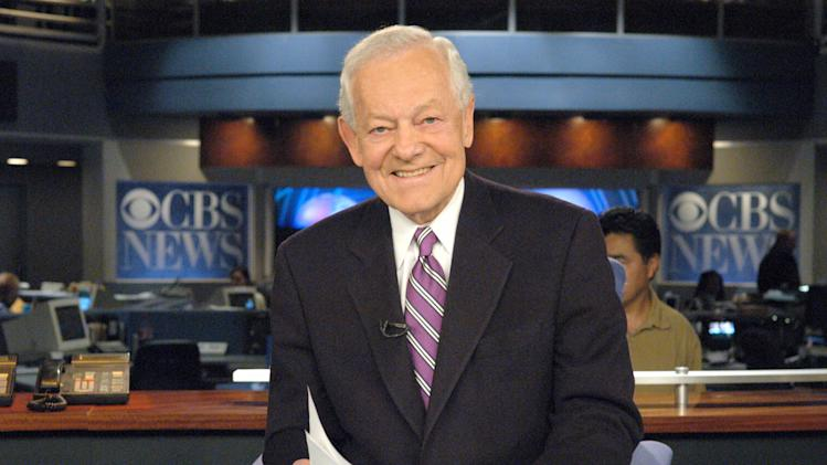 FILE - This March 10, 2005 file photo from CBS News shows newsman Bob Schieffer in New York. CBS News will mark the 50th anniversary of civil rights legislation on Thursday, July 24, 2014. The live program moderated by Bob Schieffer features civil rights activist Harry Belafonte, U.S. Rep. John Lewis, actress Whoopi Goldberg and others.(AP Photo/ CBS,John Paul Filo, File)