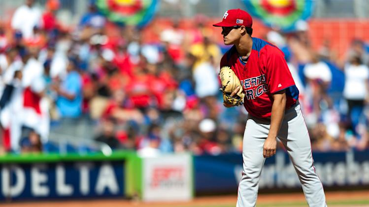 Baseball: World Baseball Classic-Puerto Rico at Dominican Republic