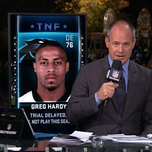 Carolina Panthers defensive end Greg Hardy's trial postponed