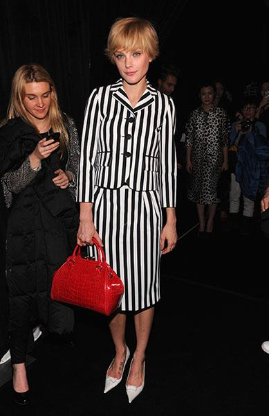 Jessica Stam in Marc Jacobs