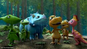 """PBS KIDS Premieres DINOSAUR TRAIN """"Nature Trackers Adventure Camp"""" Special"""