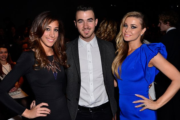 Danielle Jonas, Kevin Jonas, Carmen Electra