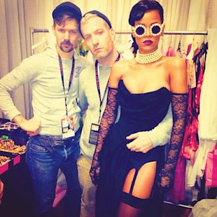 Adam Selman, Mel Ottenberg, and Rihanna