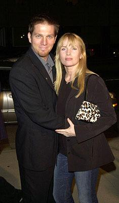 Patrick O'Neal and Rebecca DeMornay at the Beverly Hills premiere of Miramax Zoe's Amelie