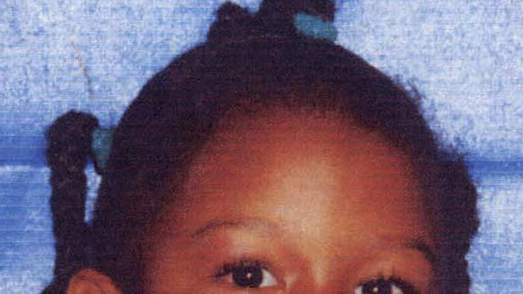 FILE - This undated file photo provided by the Miami-Dade Police Department shows Rilya Wilson, a foster child who's disappearance in December 2000 wasn't discovered until 15 months later. Geralyn Graham, who was convicted on Jan. 25, 2013 of child abuse and kidnapping the 4-year-old girl, was sentenced Tuesday, Feb. 12, to 55 years in prison. (AP Photo/Miami-Dade Police Department, File)