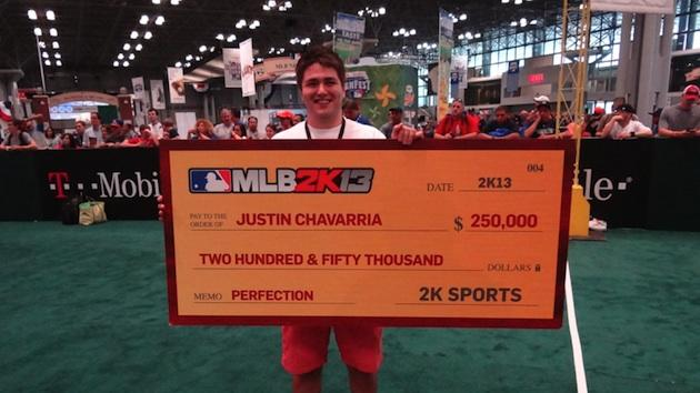 Former prep baseball star flames out on field but wins $250,000 in video game competition