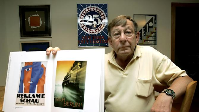 AP Interview: Posters seized by Nazis being sold