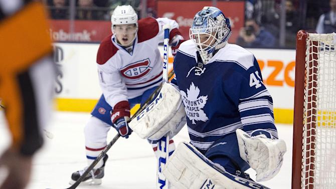 Maple Leafs top Canadiens for 4th straight win