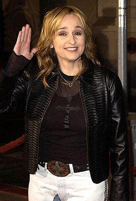 Melissa Etheridge at the Hollywood premiere of The Royal Tenenbaums