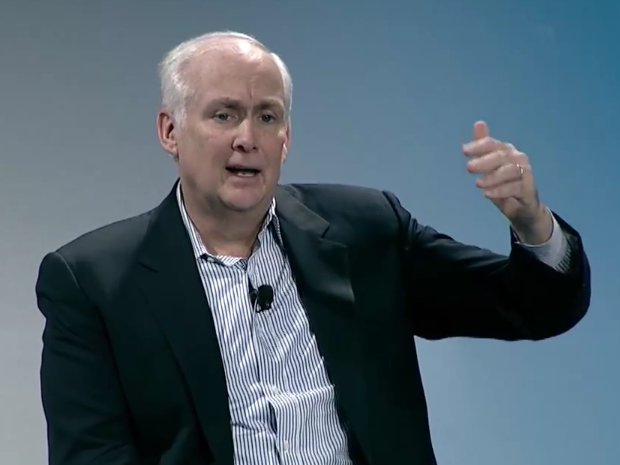 American Express president Ed Gilligan has died