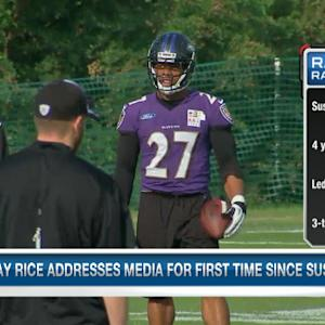 Albert Breer recaps Baltimore Ravens running back Ray Rice's press conference