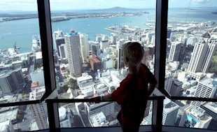 Sky Tower in New Zealand (Exactostock/SuperStock )