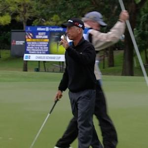 Corey Pavin and Todd Hamilton post 66 to lead at Allianz Championship