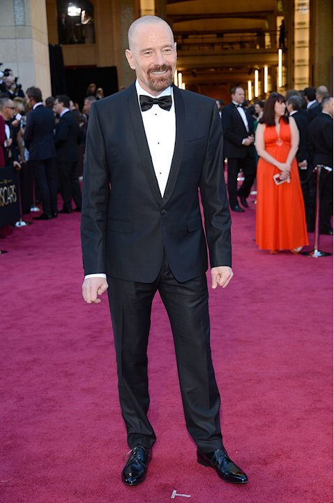 85th Annual Academy Awards - Arrivals: Bryan Cranston