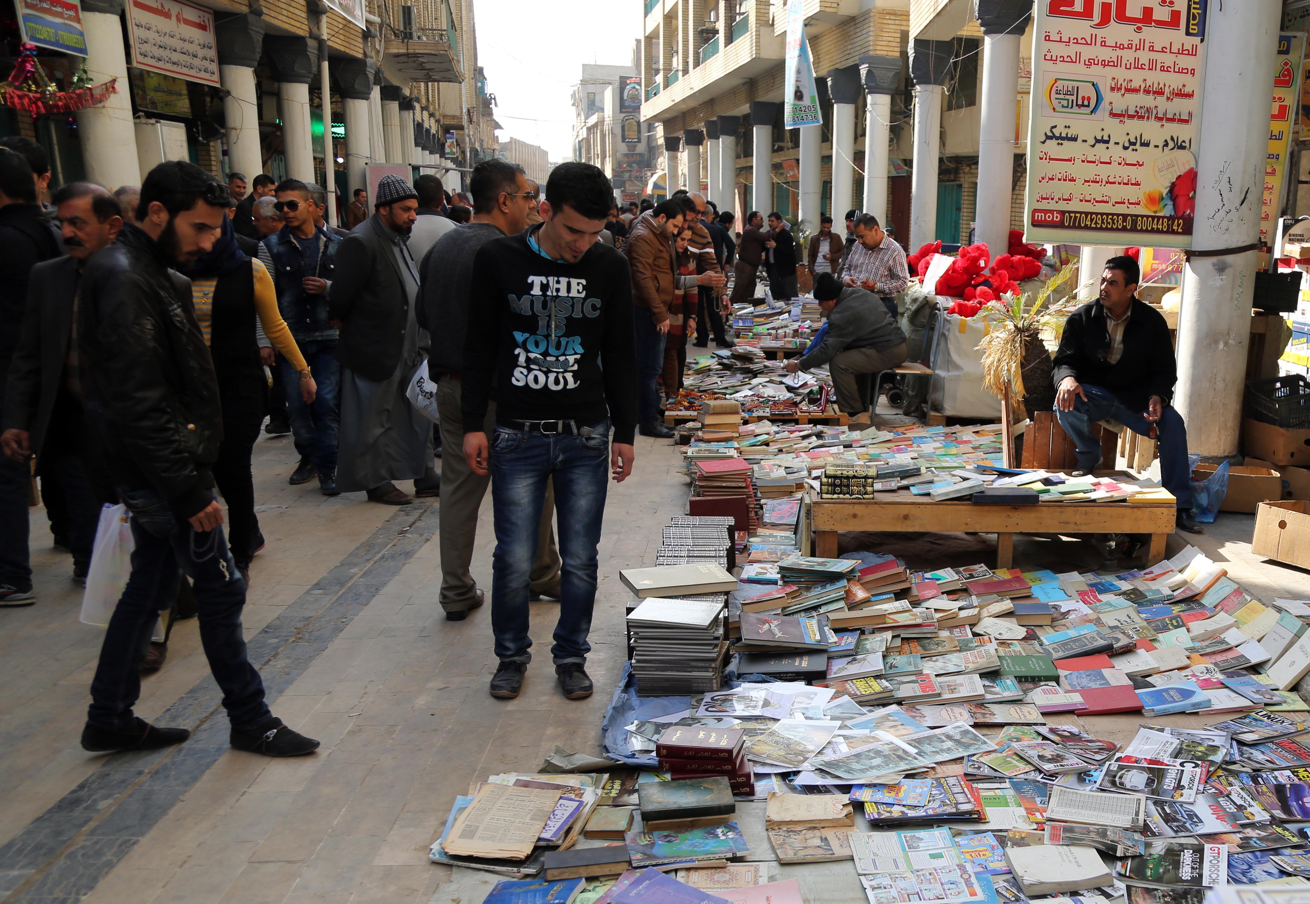 Iraqi libraries ransacked by Islamic State group in Mosul